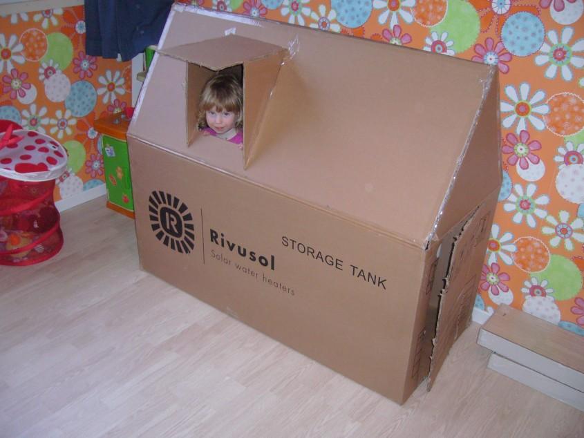 De doos van de boiler heeft inmiddels een nieuwe bestemming gevonden.. :)