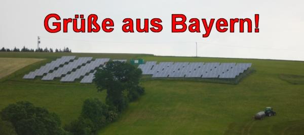 Solar Farm in Kirchdorf, Beieren